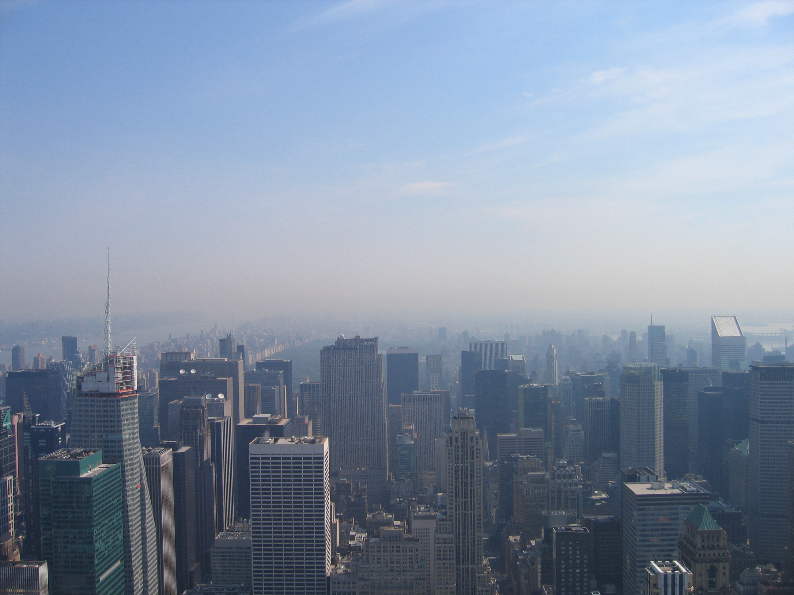 Manhattan dall'Empire State Building