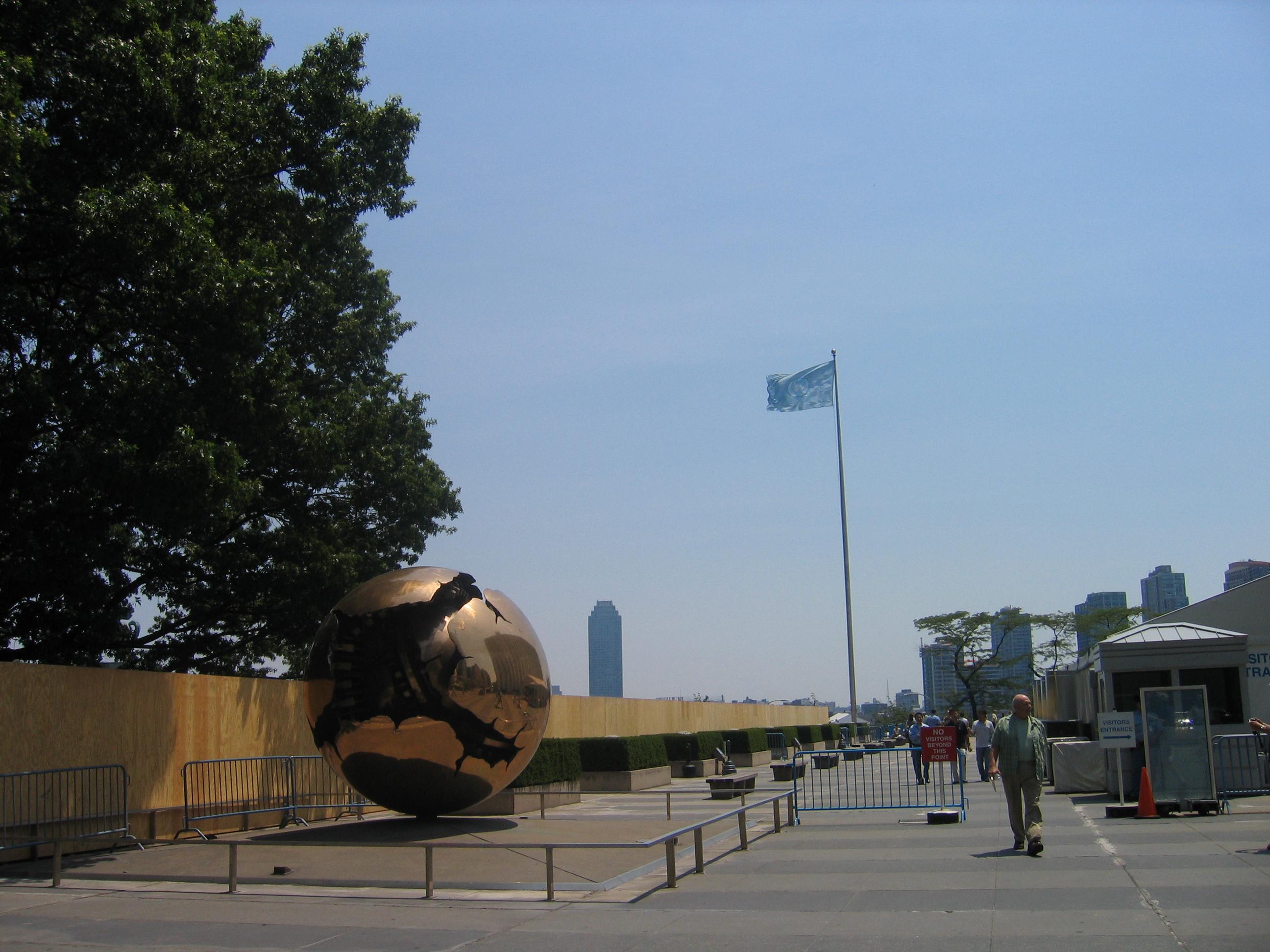 Cortile delle Nazioni Unite