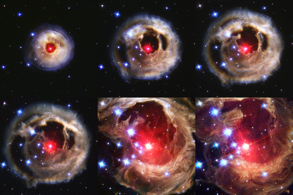 Composizione V838 Monocerotis