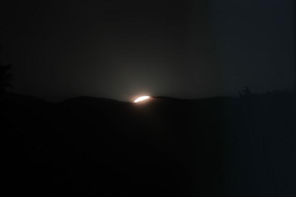 Sole al tramonto del 21.06.13