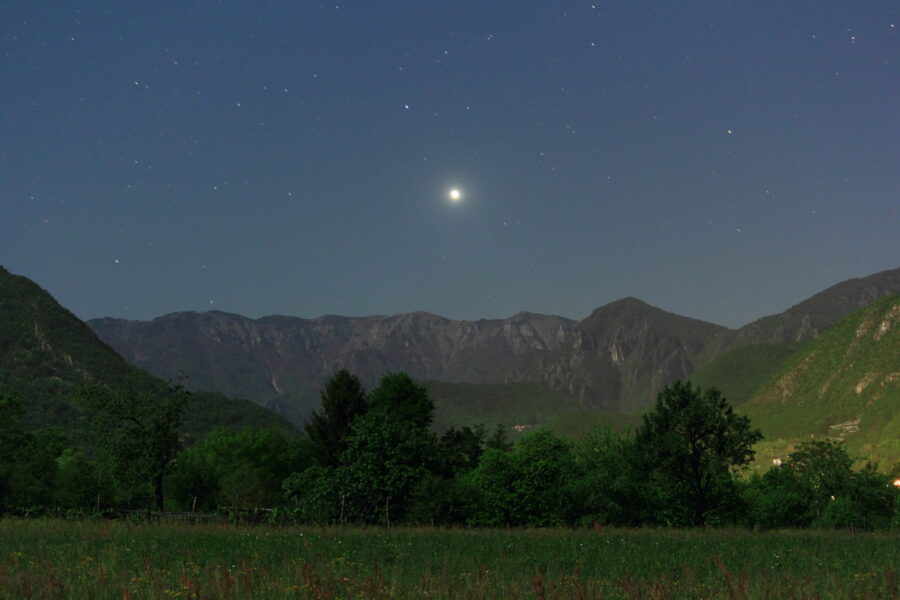 Venere tra i monti - 04.05.2020